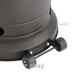 Mainstays Tall Mocha Patio Heater 48000 BTU FREE SHIPPING BRAND NEW IN BOX