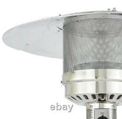 Mainstays Tall Mocha Patio Heater 48000 BTU Free 1 Day Ship