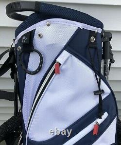 Michelob Ultra 14 Way Golf Stand Bag RED, WHITE, & BLUE New FREE SHIPPING