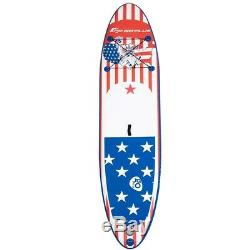 NEW 11' Inflatable Stand Up Paddle Board With Fins and Backpack- Fast Shipping