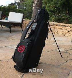 NEW 18Red RS1 Premium Golf Bag Stand Bag Black Free U. S. Shipping Carry Bag Lite