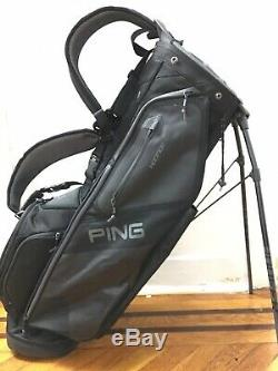 NEW 2019 PING HOOFER 14 STAND BAG BLACK 14-WAY TOP And Free Shipping