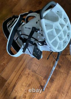 NEW 2020 Nike Air Hybrid Carry Stand Cart Golf Bag 14 Way White/Black FREE SHIP