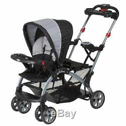 NEW Baby Trend Sit N Stand Ultra Tandem Stroller Phantom FREE SHIPPING