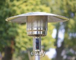 NEW Hampton Bay 48000 BTU Outdoor Propane Patio Heater FAST FEDEX SHIPPING