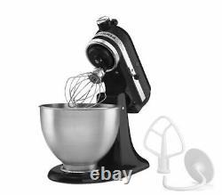 NEW KitchenAid Classic Tilt-Head 4.5 qt Stand Mixer Black SAME DAY SHIPPING