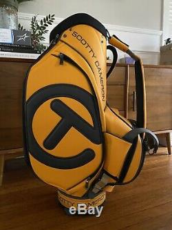 NEW Scotty Cameron Orange Circle T Stand Staff Bag sold out Ready To Ship