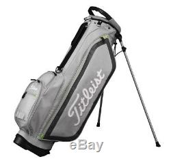 NEW Titleist Golf CBS76-GY Stand Caddie bag Black 46 in Mens Gray Fast Shipping