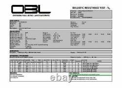 NIJ Level 3+ 10X12 Stand-Alone Ceramic +PE Ballistic Armor Plate Fast USA Ship