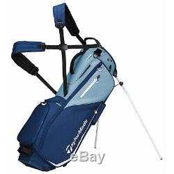 New 2020 TaylorMade FlexTech Stand Bag Navy/Blue FREE SHIPPING IN STOCK
