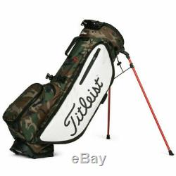 New 2020 Titleist Players 4 Plus Stand Bag Woodland Camo Free Shipping