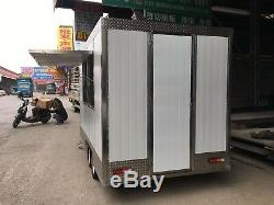 New 3M Concession Stand Food Trailer Mobile Kitchen Free Ship No Hidden charge