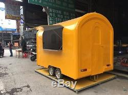 New 3M Concession Stand Trailer Kitchen +3 KW Generator Shipped by sea