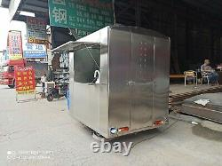 New 3.5M Concession Stand Food Trailer Mobile Kitchen Free Ship No Hidden charge