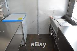 New 3.5M Stainless Steel Concession Stand Trailer Mobile Kitchen Shipped By Sea