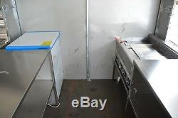 New 3.5Mx2M Stainless Steel Concession Stand Trailer Kitchen Ship By Sea