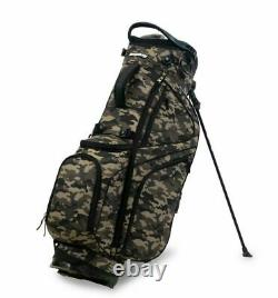 New Bag Boy Golf HB-14 Hybrid Stand Bag Camo now with Free Shipping