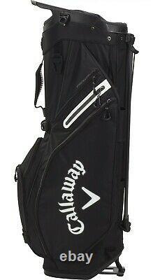 New Callaway 2021 Fairway 14 Stand Golf Black Bag Free Shipping