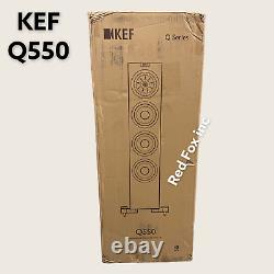 New KEF Q550 Floor-standing Speaker SINGLE Free Fast Shipping