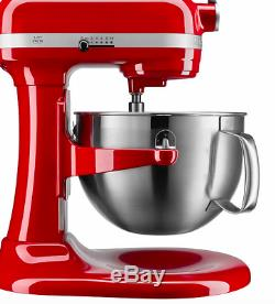 New KitchenAid 6-Quart Professional Bowl-Lift Stand Mixer Empire Red Ship Now