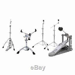 New Ludwig Laspack Atlas Standard 5-piece Drum Hardware Pack + Free Shipping