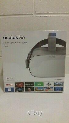 New Oculus Go 64GB Stand-Alone Virtual Reality Headset Sealed Fast Ship