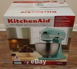 New Sealed KitchenAid Stand Mixer 4.5Qt 300-Watt Ice Blue FREE EXPEDITED SHIP