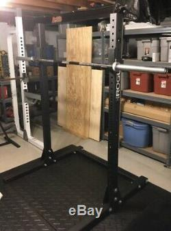 New Sml-1 Rogue Fitness 70 Monster Lite Squat Stand With J Cups Ships Tomorrow