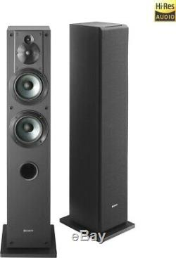 New Sony SS-CS3 3-Way 4-Driver Bass Reflex Stereo Floor-Standing Ships Free
