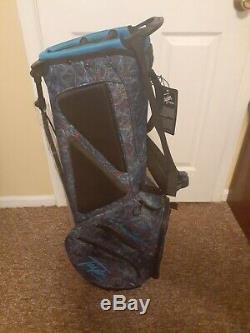 New TaylorMade Golf FlexTech Lite Stand Bag Navy Blue $139 FREE SHIPPING