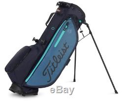 New Titleist 2019 Players 4 Plus Stand Bag (Navy/Bay/Glass) Free Shipping