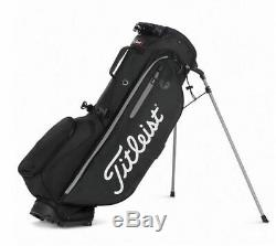 New Titleist 2020 Players 4 Plus Stand Bag Black TB9SX1-0 Free Shipping