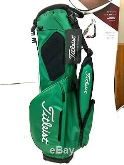 New Titleist Player 4 Stand Bag Tb9sx4-spl St. Patrick's Green Free Ship