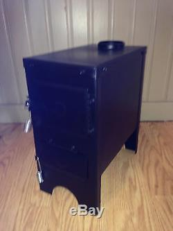 NuWay Fish house wood stove ice house deer stand furnace heater m965 FREE SHIP