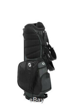 OGIO XL Xtra Light Stand Golf Bag Brand new in box- FREE SHIPPING Black/Gray