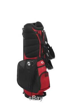 OGIO XL Xtra Light Stand Golf Bag Brand new in box- FREE SHIPPING Black/Red