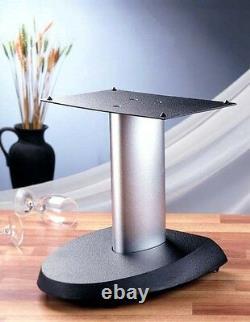 One single VTI VSPCSB Center Speaker Stand, 13 Black/Silver, Brand New, Free Ship