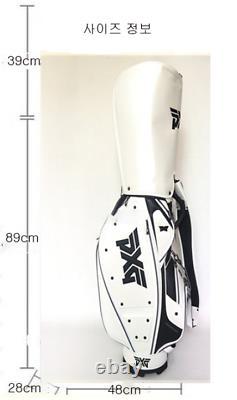 PXG Golf Performance 9.5 CB Carry Stand Bag White Color Express ship