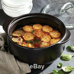 Pampered Chef Rockcrok Dutch Oven and Slow Cooker Stand 4QT FREE SHIPPING