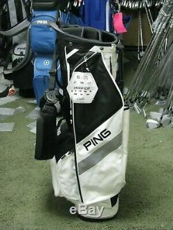 Ping 2019 Hoofer 5 Way Top Golf Stand Bag Black/White NEW withTAGS FREE SHIP