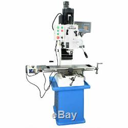Pm-932m-pdf Vertical MILL 3-axis Dro Power Down Feedwith Stand Free Shipping