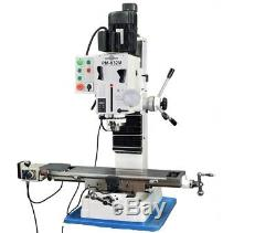 Pm-932m-pdf Vertical Milling Machine Power Down Feed No Stand Free Shipping