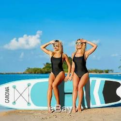 Portable Surfboard Inflatable Stand Up Adult Anti-slip Paddle Board USA Ships