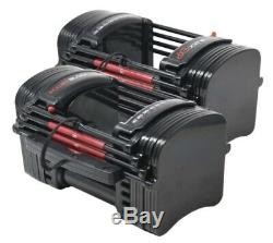 PowerBlock EXP Stage 1, 2, & 3 Set (5-90 LBS) Pair with Stand SHIPS NOW