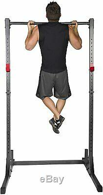 Power Rack Exercise Stand. Squat Rack. Bench Press. Pull Up Bar SAME DAY SHIP