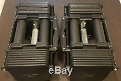 Powerblock Commercial Pro 50 Dumbbells Pair(used)+pro Stand(nib)ready To Ship