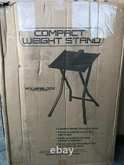 Powerblock Large Compact Dumbbell Stand 90 lbs New Free Priority Shipping