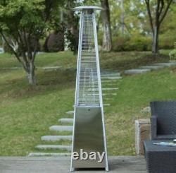 Pyramid Gardensun Stainless Steel Propane Heater + Wheels + Free Fast Shipping