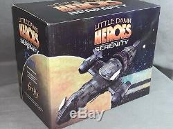 QMX Serenity Firefly Ship Little Damn Heroes 1400 Statue + Stand and Shuttles
