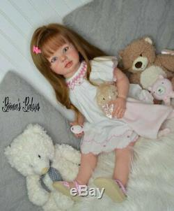 READY TO SHIP! Reborn Standing Toddler Doll Baby Girl Bonnie by Linda Murray
